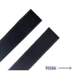 Velcro 38mm Negro