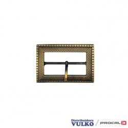 Hebilla rectangular 50mm Envejecida
