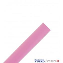 Huincha Plastica Transparente Rosada 34mm