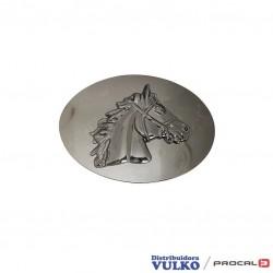 Hebilla placa ovalada caballo