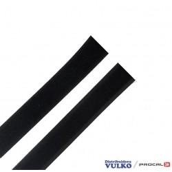 Velcro 25mm Negro Autoadhesivo