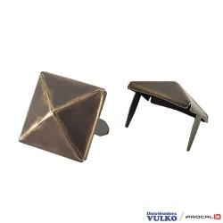Adorno Piramide 20mm Envejecida