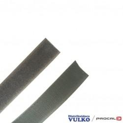 Velcro 25mm Gris