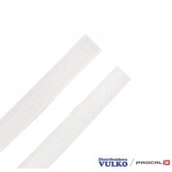 Velcro 20mm Blanco