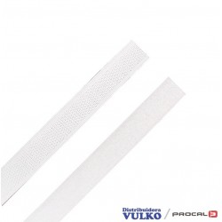 Velcro 16mm Blanco