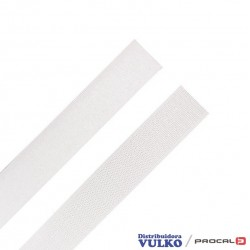 Velcro 25mm Blanco