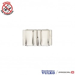 Hebilla Cinturon Elastico 30mm Niquel