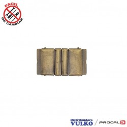 Hebilla Cinturon Elastico 30mm Envejecida