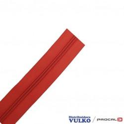 Cierre de Nylon Nº 5 Rojo