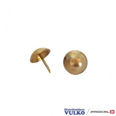 Clavos Tapiceros Grandes 15mm Dorado