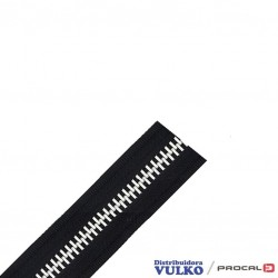 Cierre Aluminio N°10 Negro
