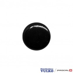 Broche Grande 15mm Negro