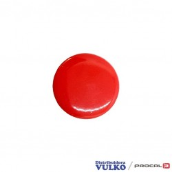 Broche Grande 15mm Rojo