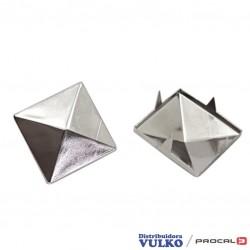 Adorno Piramide 20mm Niquel