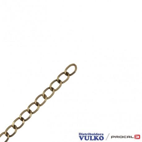 Cadena Aluminio 10mm Envejecida