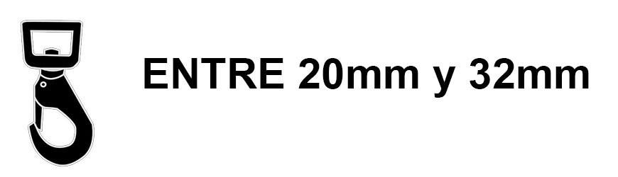 Menos de 32mm